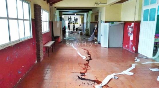 Vándalos ocasionaron daños en la Escuela N° 7