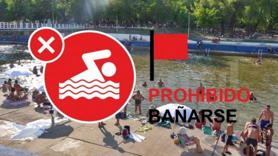 Continúa la prohibición de bañarse en el Río Salto