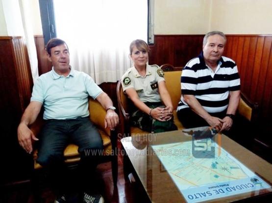 Se realizó la presentación oficial de la nueva Subcomisario de la Patrulla Rural de Salto