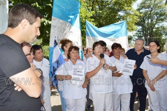 En su día, enfermeros marcharon en rechazo a la nueva ley de enfermería