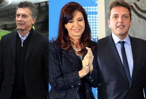Una encuesta indicaría que Macri está estancado, Cristina en crecimiento y Massa decaído