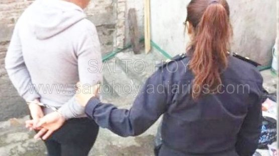 Detienen a una mujer por violar un radio de exclusión