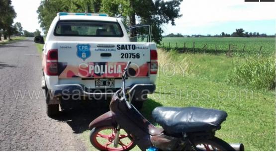 Informe de la Patrulla Rural: interceptación de vehículos e identificación de personas