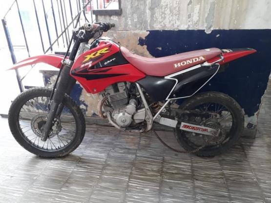 La Policía encontró una motocicleta que había sido robada