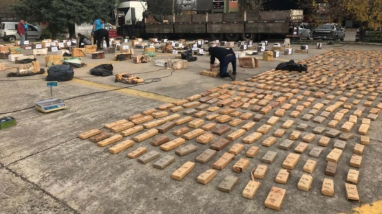Incautaron 3500 kilos de marihuana en Buenos Aires