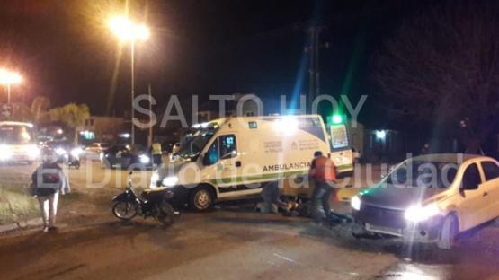 Tres accidentes en la Ciudad durante la jornada del lunes