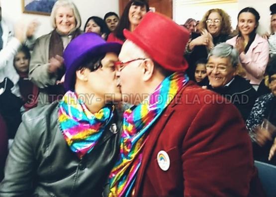 El amor y la alegría se conjugaron en un mediodía histórico en Salto