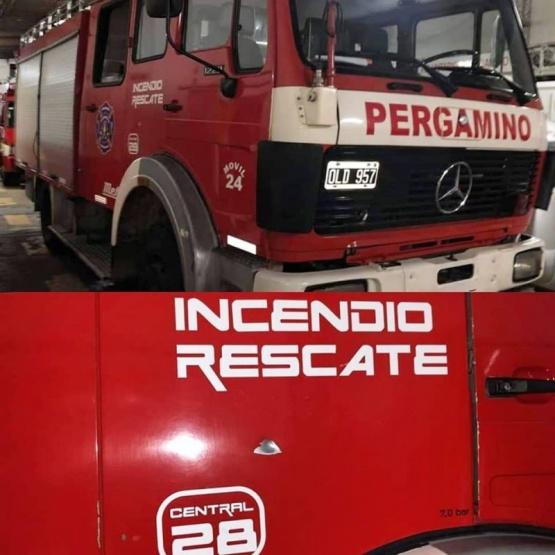 Sin presencia policial, Bomberos de Pergamino no ingresarán a zonas conflictivas tras las constantes agresiones recibidas