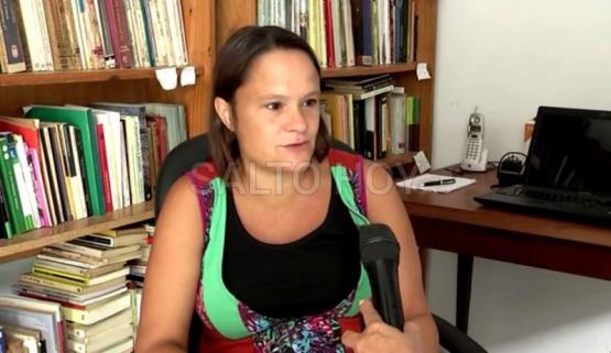 La periodista local Valeria Vizzón fue víctima de la inseguridad en Buenos Aires