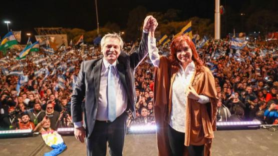 Alberto Fernández cerró la campaña del Frente de Todos en Rosario