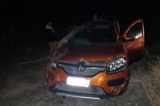 En accidente mueren dos docentes de Comodoro Rivadavia cuando volvían de una marcha en Rawson