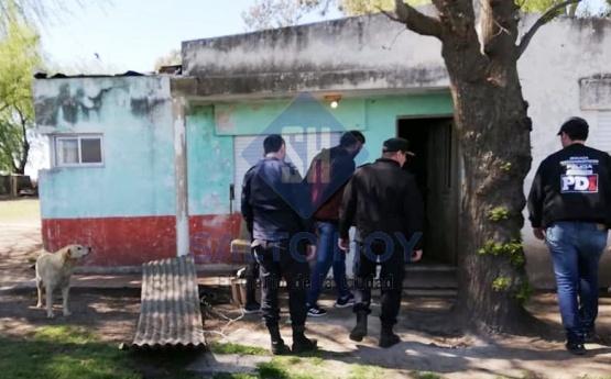 AHORA: Allanamiento y detención en Inés Indart