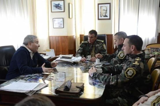 Alessandro se reunió con el Superintendente de Seguridad Rural