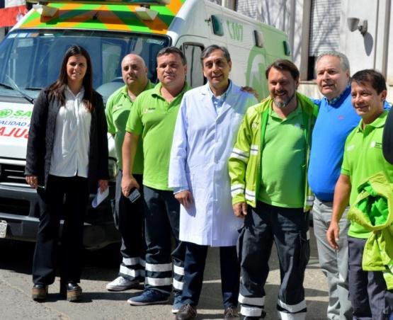 SAME Provincia: el Hospital de Salto recibió una ambulancia de alta complejidad