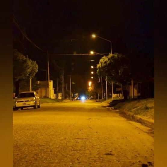 Obras de reconversión lumínica en Arroyo Dulce