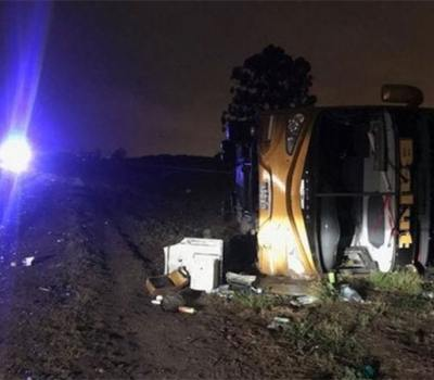 Tragedia en Tucumán: 3 muertos y 35 heridos tras el vuelco de un colectivo