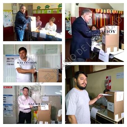 Salto elige: Alessandro, Arimay, Fuhur, Basset y López pasaron por las urnas