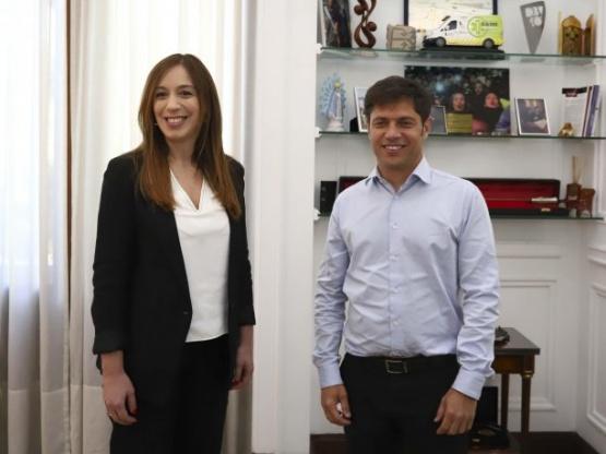 Con un pedido de Kicillof a Vidal, comenzó hoy la transición