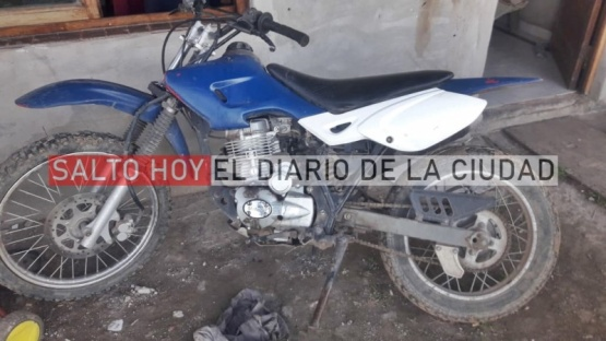 Hallan una moto que había sido robada hace siete años
