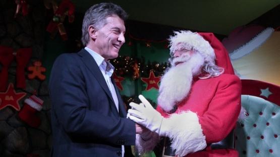 Mauricio Macri festejó navidad y envió un saludo: