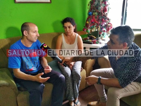Accidente en la calle Tristán Lobos: Canal 13 llegó a Salto y habló con familiares de José Dalaisón