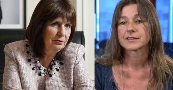 Herencia en seguridad: La actual ministra Sabina Frederic se cruzó con Bulrrich