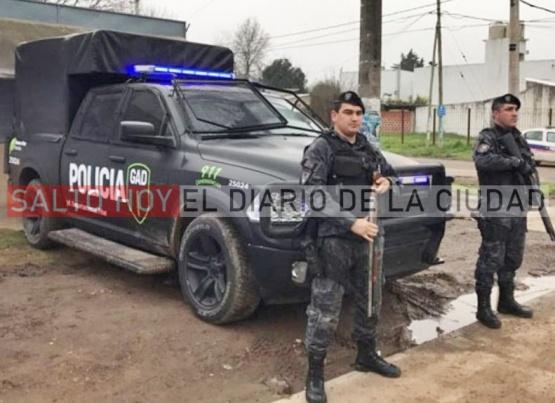 Refuerzan la seguridad en las calles de Salto y el GAD estará por 45 días