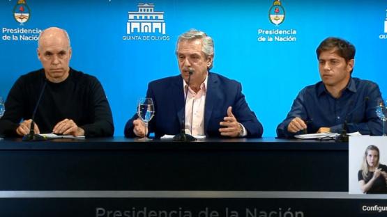 El Gobierno convocó a los equipos de Axel Kicillof y Rodríguez Larreta para definir cómo sigue la cuarentena