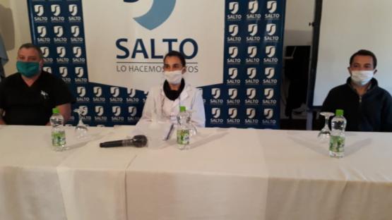 Con 8 nuevos casos de Coronavirus confirmados, el número de infectados en Salto asciende a 25