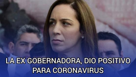 La ex Gobernadora María Eugenia Vidal dio positivo para Covid-19