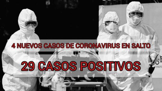 Se acrecienta el número de infectados de Covid-19 en Salto