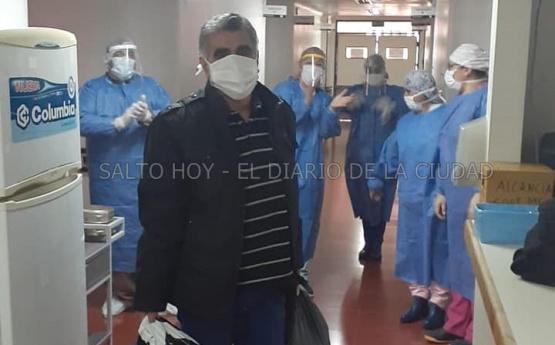 30 personas se han recuperado de coronavirus en Salto