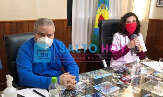 Preocupación: Salto, a cuatro casos de llegar a los 100 desde el inicio de la pandemia