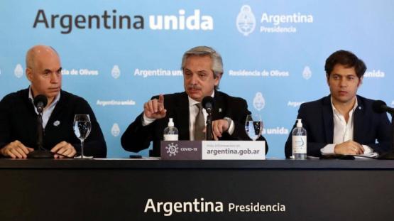 Coronavirus en la Argentina | Alberto Fernández define el futuro de la cuarentena con Axel Kicillof y Rodríguez Larreta