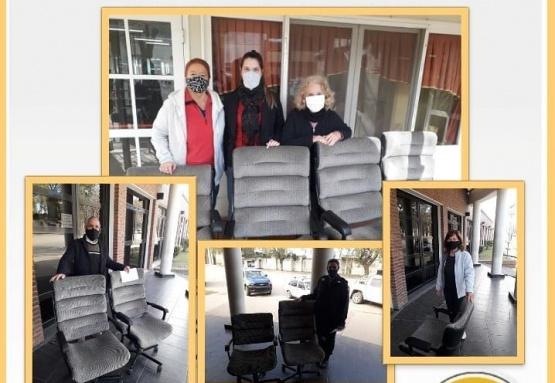 La Cooperativa Eléctrica donó parte de su mobiliario a diferentes instituciones de la ciudad
