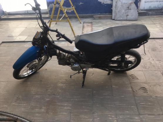 Recuperan una moto robada y detienen a un joven como autor del ilícito