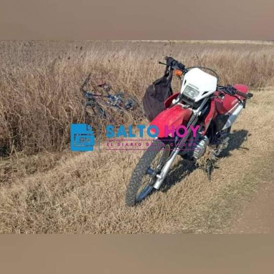 Quién era y cómo se produjo el accidente que terminó con la vida de un ciclista en un camino rural del Partido de Salto
