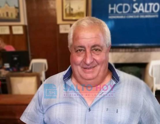El concejal Raúl Palazzesi continúa a la espera de los resultados de su hisopado