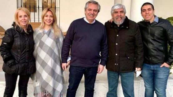 Coronavirus en la Argentina: Una asesora de Alberto Fernández criticó la foto con Hugo Moyano sin barbijo ni distanciamiento social