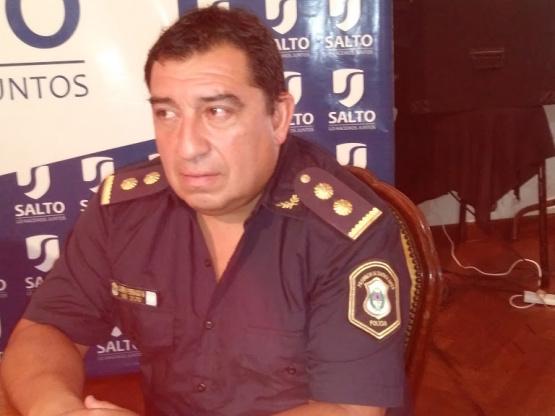 Aislaron al Comisario Fernando Cabrera, titular de la Policía Comunal de Salto