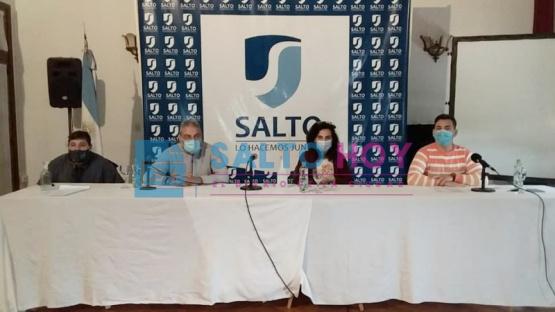 Coronavirus en Salto: 61 casos activos, 28 recuperados y 74 hisopados en estudio