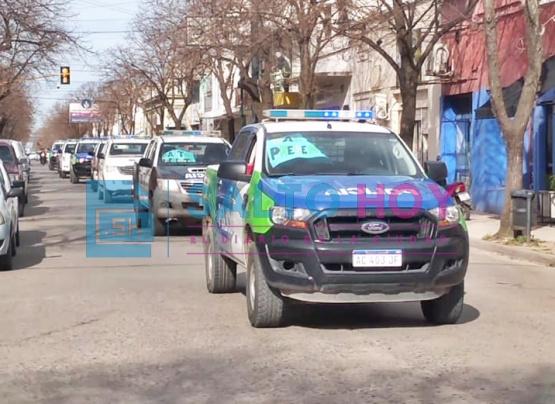 Protesta policial: efectivos de Salto se sumaron al reclamo de mejoras salariales