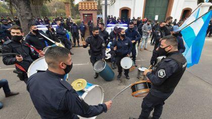 Sergio Berni dijo que en la protesta en Olivos hubo policías drogados y borrachos