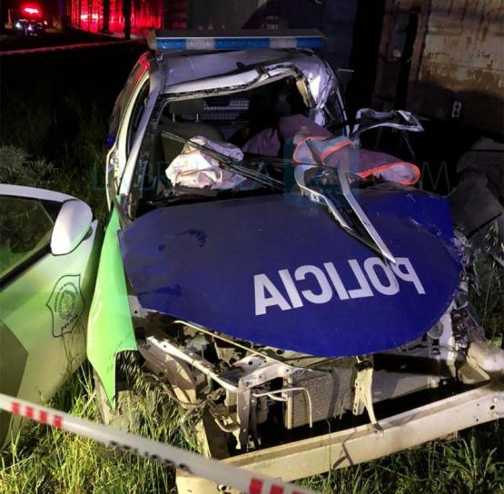 Un tren arrolló a un patrullero en la ruta 51: murió un policía