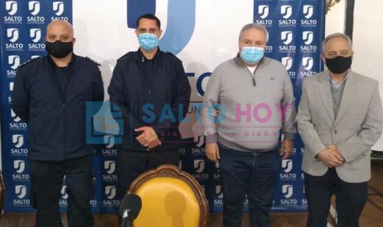 Marcelo Acevedo es el nuevo Titular de la Estación de Policía de Salto