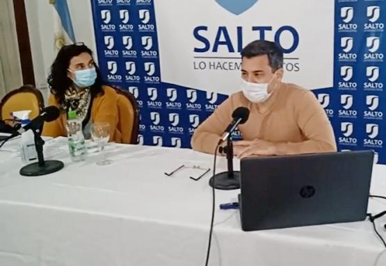 Los doctores Myrna Rebottaro y Lucas Alé brindaron un nuevo reporte epidemiológico