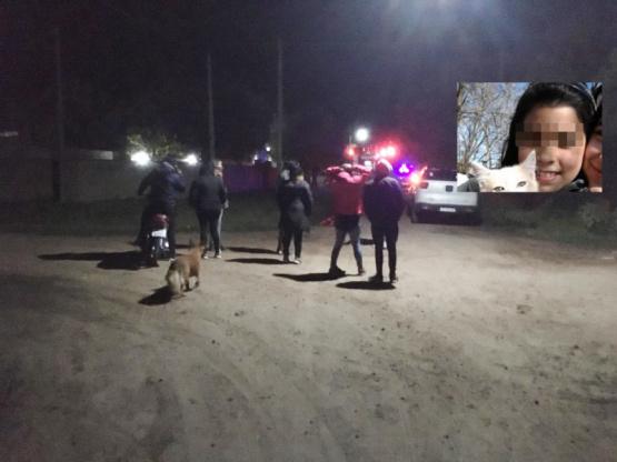 Chacabuco: Mía, la menor que era buscada en Chacabuco apareció sana y salva