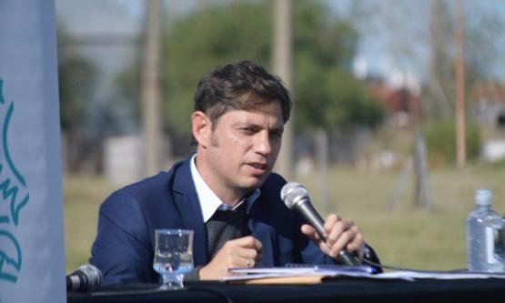Kicillof en Bahía Blanca: obras de agua y críticas a Vidal